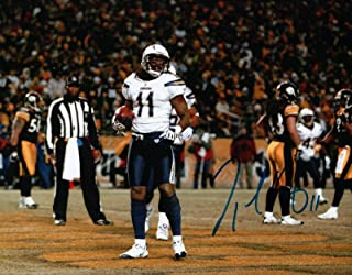 8e9e644ae81 Legedu Naanee Signed 8X10 Photo Autograph Chargers After Catch Blue Ink Auto