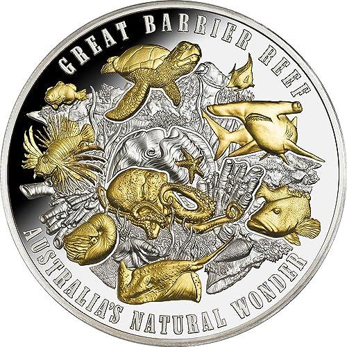 buena reputación Power Coin Great Barrier Reef Gran Barrera Coral Australias Natural Natural Natural Wonder 5 Oz Moneda plata 10  Niue 2018  grandes ahorros