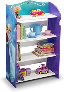 Frozen Bookshelf Organizer Toy Storage Princesses Anna And Elsa Kid Bed Play Room Bin Box Book Shelf, Durable and easy-to-clean finish, Made of engineered wood 19.75