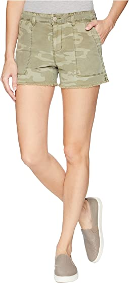 Traverse Fray Hem Shorts