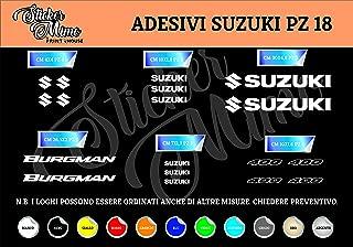 PEGATINAS MOTO RGSX SUZUKI R170 STICKERS AUFKLEBER DECALS AUTOCOLLANTS ADESIVI