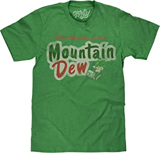 Tee Luv Mountain Dew T-Shirt - It'll Tickle Your Innards MTN Dew Shirt