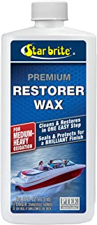 Star brite Premium Restorer Wax - For Heavy to Medium Oxidation