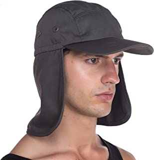 2d3afde6cae Top Level Fishing Sun Cap UV Protection - Ear and Neck Flap Hat