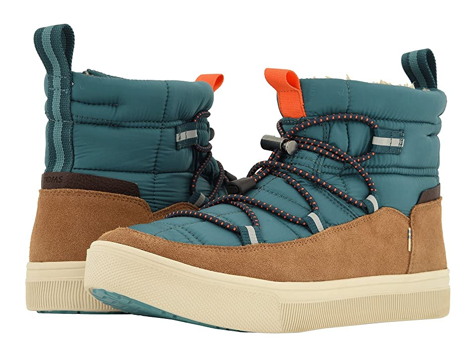 TOMS TRVL LITE Alpine Water-Resistant Boot (Stellar Blue Quilted/Suede) Men