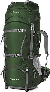 MOUNTAINTOP Zaino Trekking 50L/70L Zaino Montagna Grande capacità Zaino Adulto per Escursionismo Campeggio Alpinismo Viagg...