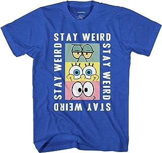 SpongeBob SquarePants Boys Shirt - Spongebob Tee - Classic Spongebob T-Shirt