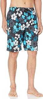 Kanu Surf Men's Hangout Floral Quick Dry Beach Board Shorts Swim Trunk Swim Trunks