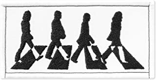 The Beatles Abbey Road Music Rock Band Embroidered Patch Iron On (3.8