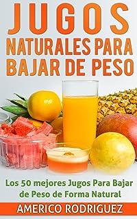 Jugos Naturales para Bajar de Peso: Los 50 Mejores Jugos para Bajar de Peso en forma Natural