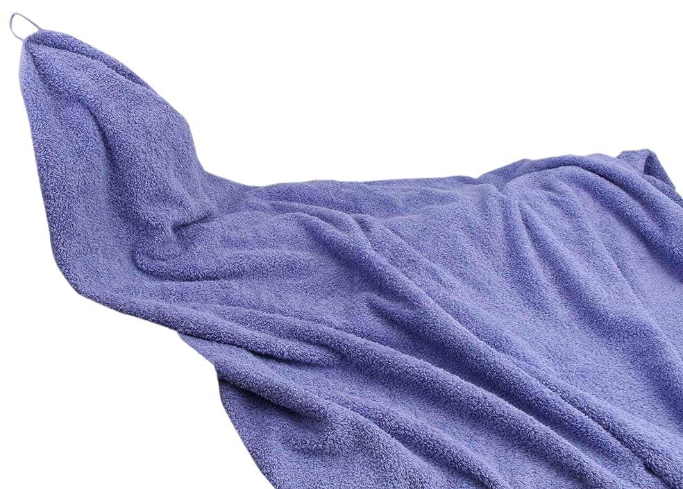 シンジケート後悔ホバート大同 タオル ブルー 約140x190cm BL