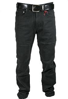 Mastino - Pantalone da Uomo in Fustagno Felpato a Vita Alta Regular Fit Blu