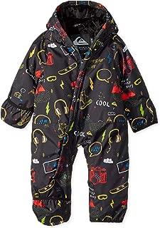 Quiksilver Big Snow Baby Boys' Little Rookie One Piece Suit, Black MAOAM TATT, 3-6M
