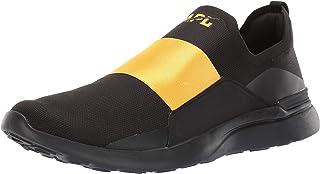 Athletic Propulsion Labs (APL) Men's Techloom Bliss Black/Racing Yellow 10.5 D US
