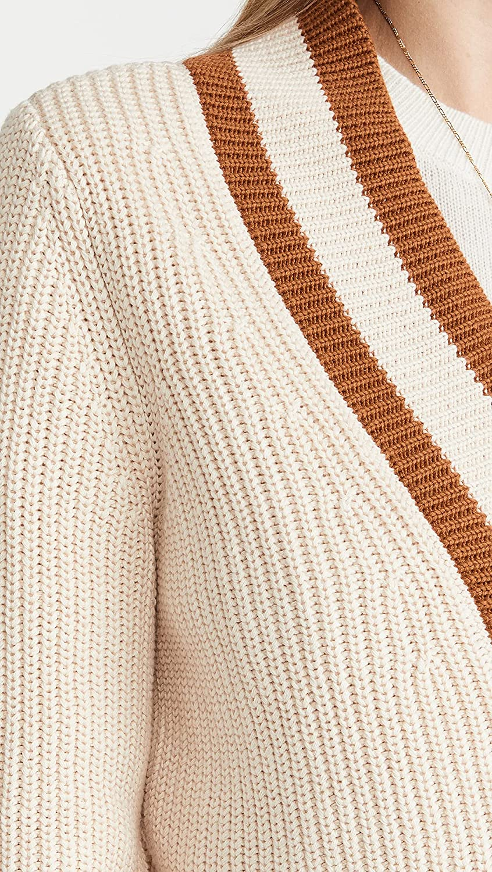 525 Women's Cotton Varsity V Neck Cardigan