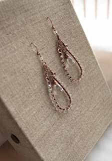 leather earring designs