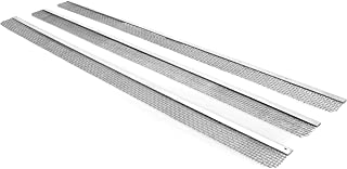 """Camco 42157 Stainless Steel Insect Screen -  Keeps Out Insects That Interfere with Airflow,  Fits Dometic and Atwood Refrigerators  Vents 19 3/8"""", Silver"""