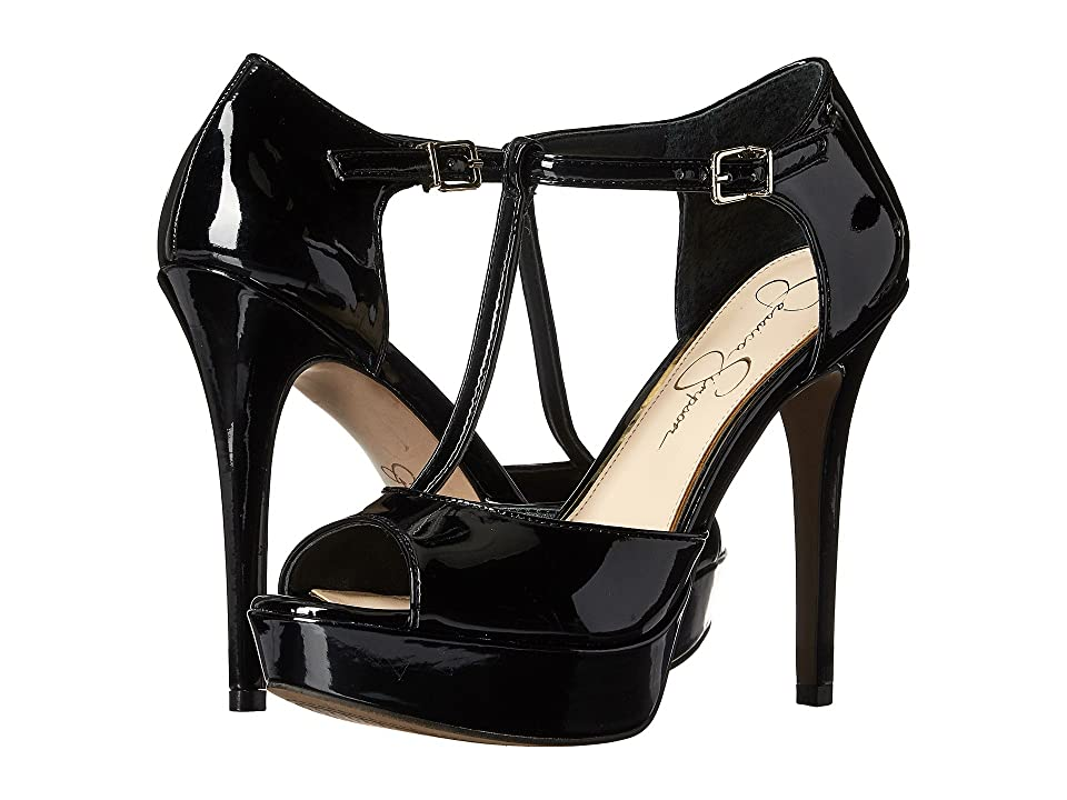 Jessica Simpson Bansi (Black Patent) High Heels