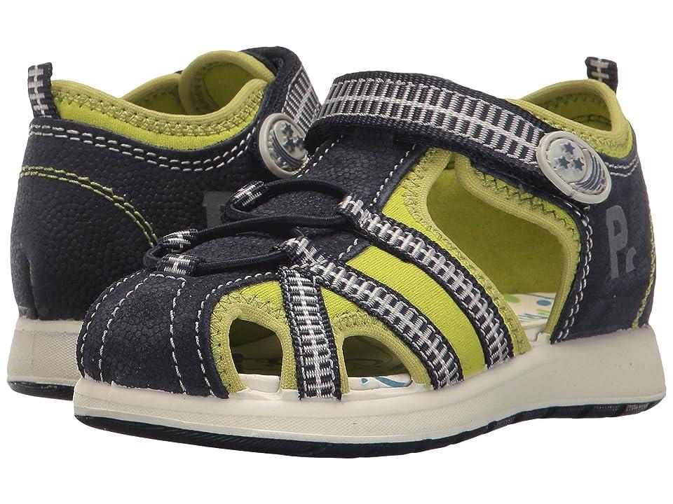 Primigi Kids PAK 7569 (Infant/Toddler) (Blue/Lime) Boy