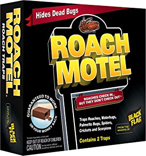 Black Flag 11020 511086 Roach Motel Insect Trap, Case Pack of 1