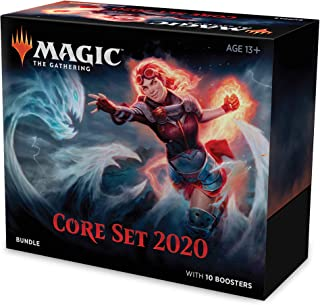 Magic: The Gathering Core Set 2020 (M20) Bundle | 10 Booster Packs | Accessories | Factory Sealed