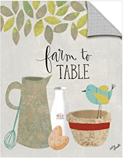 Katie Doucette ''Farm To Table'' Removable Wall Art Mural, 24X32