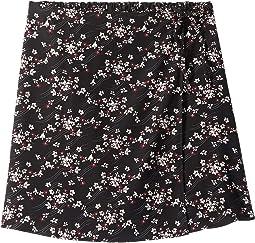 Woven Circle Skirt (Big Kids)