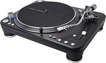 Audio Technica AT-LP1240-USB XP Direct-Drive Professional DJ Turntable (USB & Analog), Black, Selectable 33 -1/3, 45, and 78 RPM Speeds, High-torque, Multipole Motor, Convert Vinyl to Digital