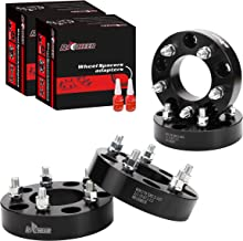 4 PCS 5x5.5 to 5x5 Wheel Spacers Adapters for 1994-2001 Dodge Ram 1500,1.5 inch Wheel Adapter with 1/2 Studs for Ford E-150 Econoline F-150 Bromco