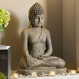 John Timberland Zen Buddha Outdoor Statue 29 1/2