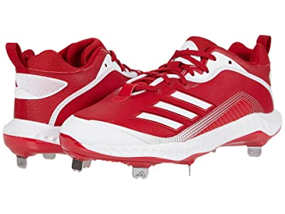 adidas Icon 6 Bounce (Team Power Red/Footwear White/Footwear White) Men