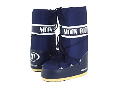 MOON BOOT Moon Boot(r) Nylon (Blue) Cold Weather Boots
