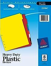 Best heavy duty plastic binder dividers Reviews