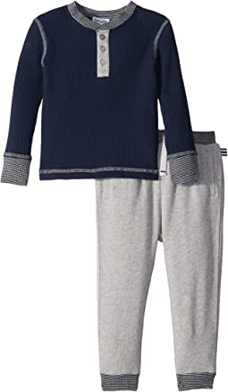 Splendid Littles - Waffle Knit Henley Set (Infant)