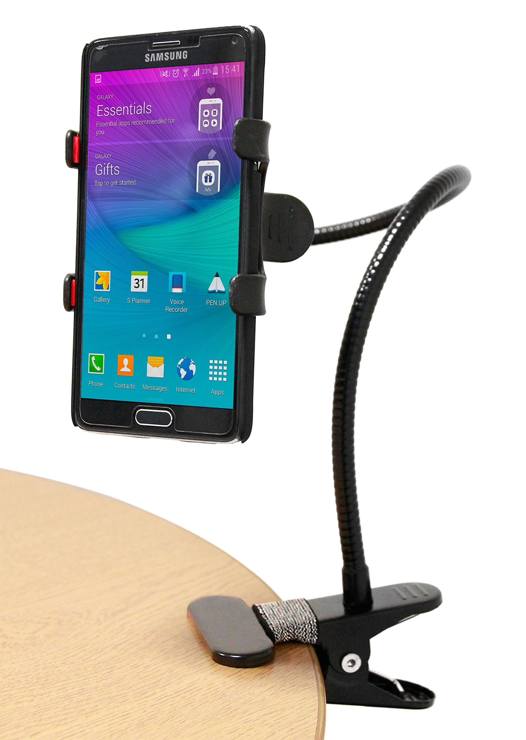 DURAGADGET Soporte de Cuello de Cisne Smartphone Smartphone Huawei ...
