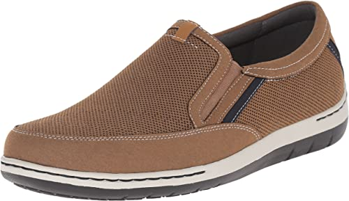 Dunham Men's FitSync Slip on chaussures,Tan,11.5 D US