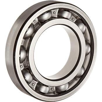 Steel Cage 62 mm OD 16 mm Width 30 mm Bore ID NTN Bearing 6206C4 Single Row Deep Groove Radial Ball Bearing C4 Clearance Open NTN   6206C4