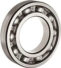 FAG 6208-C3 Deep Groove Ball Bearing, Single Row, Open, Steel Cage, C3 Clearance, Metric, Metric, 40mm ID, 80mm OD, 18mm Width, 20000rpm Maximum Rotational Speed, 4270lbf Static Load Capacity, 6900lbf Dynamic Load Capacity