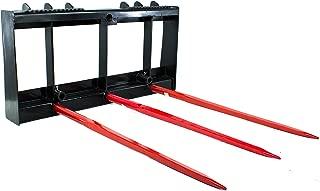 "Titan Hay Bale Spear Attachment for Bobcat Skid Steers, Farm Equipment, 49"""