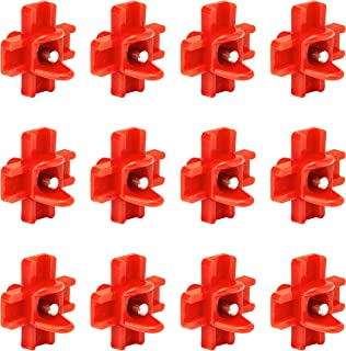 Cruzadel 12 Pack - Horizontal Side Mount Automatic Poultry Nipples - Drinker Waterer for Chicken or Quail