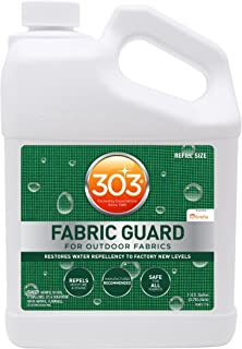 303 Fabric Guard - For Outdoor Fabrics - Restores Water Repellency To Factory New Levels - Repels Moisture And Stains - Ma...