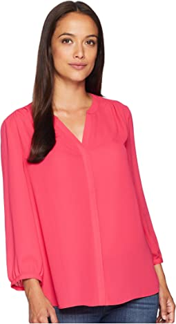 NYDJ Blouse w/ Pleated Back