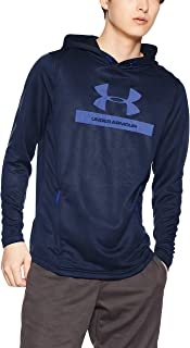 Under Armour Men's Mk1 Terry Graphic Hoodie Warm-up Top