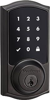 クイックセット916?Z - Wave SmartCodeタッチスクリ?ン電子デッドボルト、Compatible with Alexa via SmartThings、ウィンク、またはIris featuring SmartKey 99160-...