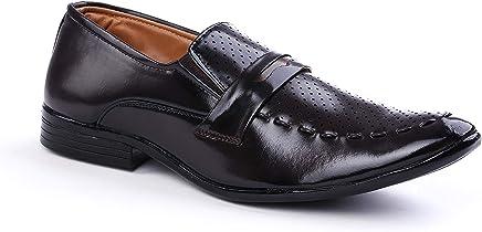 FOX HUNT Black Men's Formal Shoes