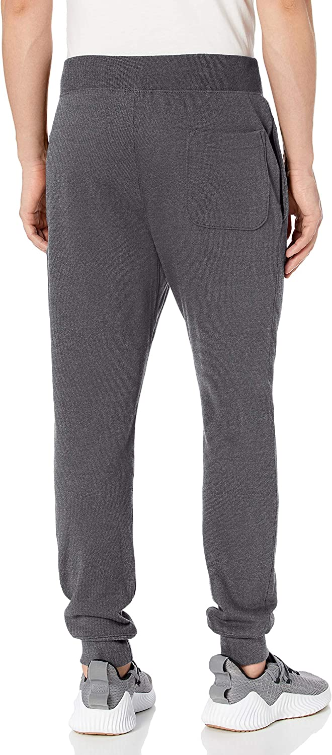 Champion Pantalon de survtement Homme Granite Chiné/Logo C.