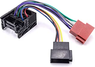vhbw Autoradio, ISO adapter, compatibel met BMW X5 E56 04/2000-09/2001 automodel