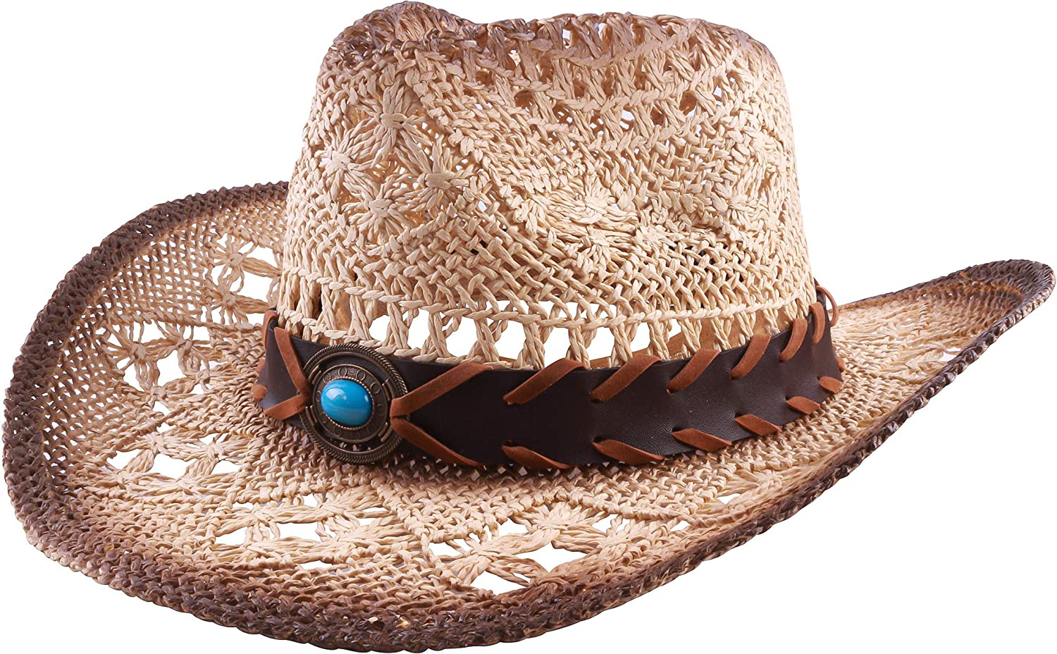Western Outback Cowboy Hat Men's Style Canvas Straw Felt Max 56% OFF Max 66% OFF Women's