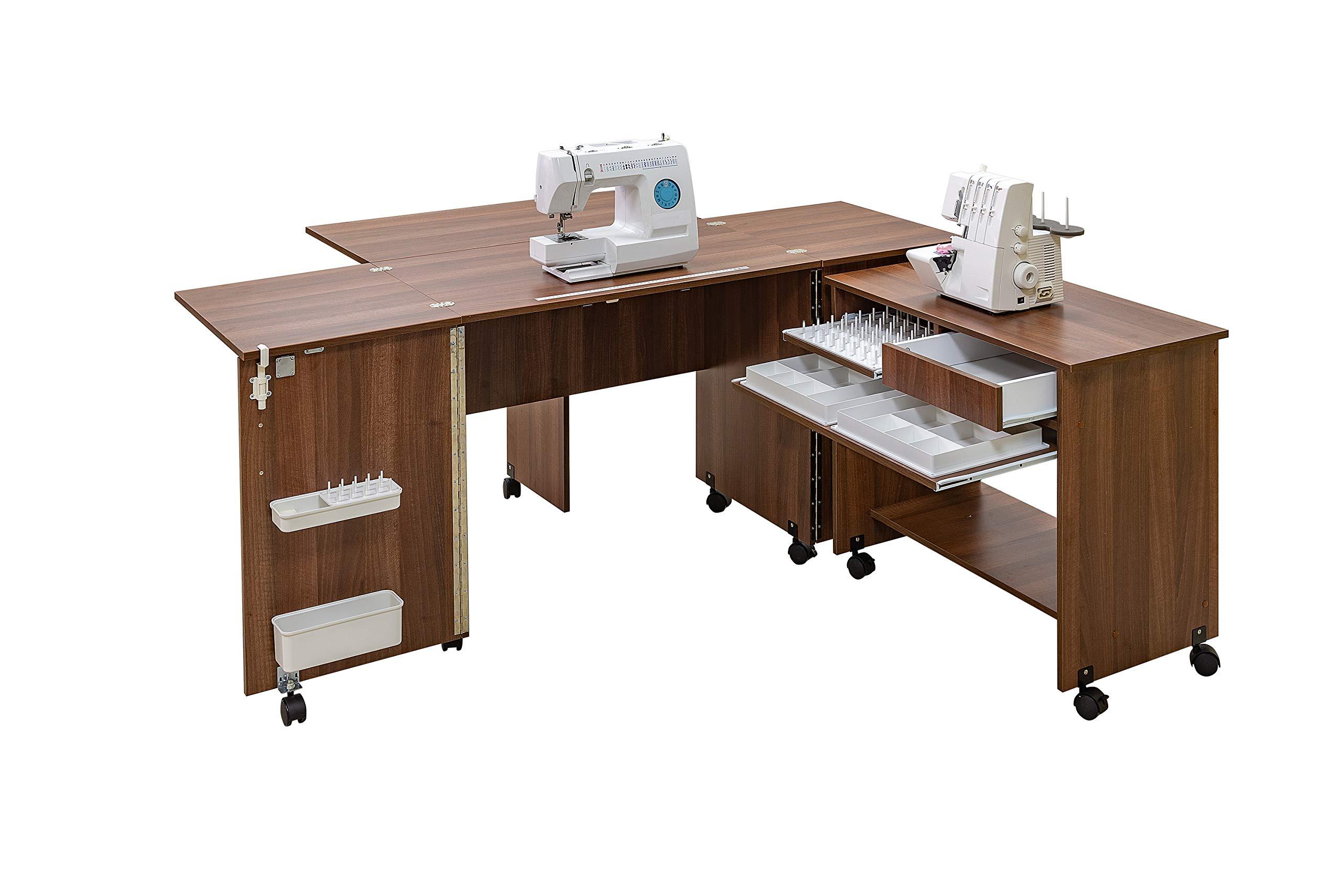 Comfort 7+ | Muebles para máquinas de coser y overlock | (Oak ...