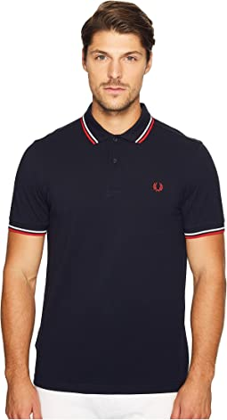 74a1bbba Fred perry striped pique shirt | Shipped Free at Zappos